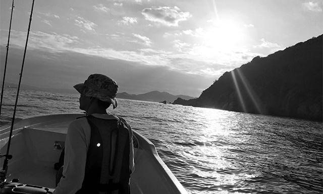 ボート釣りでタイラバ