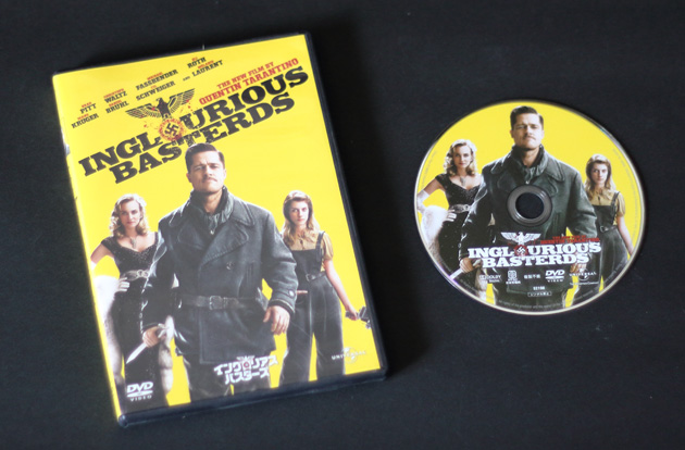 『イングロリアス・バスターズ』DVD