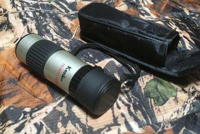 Kenko 単眼鏡 10-30倍×21口径