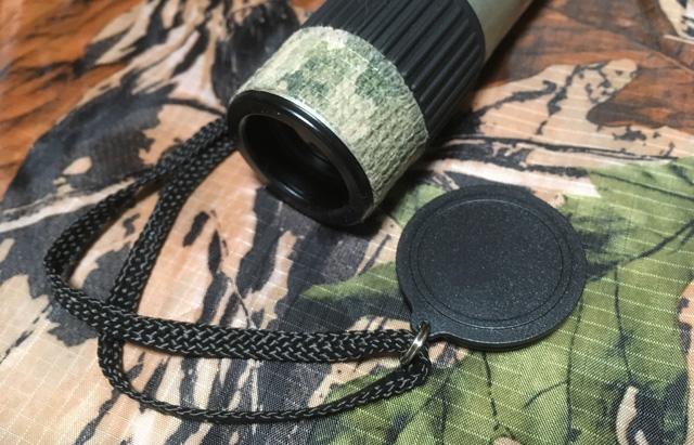 狩猟向けにカスタマイズした単眼鏡