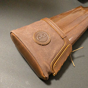 Canvas Leather Recoil Pad