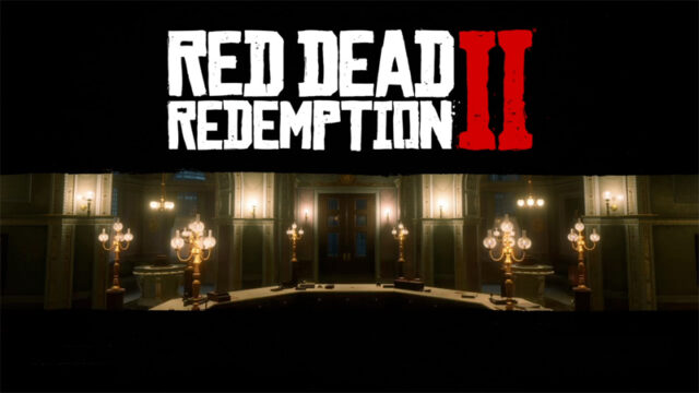 「Red Dead Redemption 2」タイトル画面