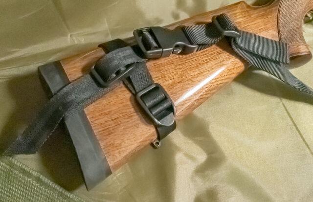 「3HGR Driven」を参考にしたスリング(銃床側)