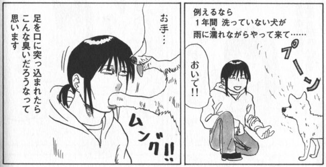 『山賊ダイアリー』第6巻 ヒドリガモを食べた岡本くんの感想
