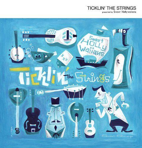 「Ticklin' The Strings」CDジャケット