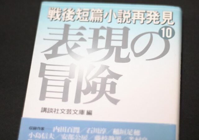 『戦後短篇小説再発見10 表現の冒険』文庫本
