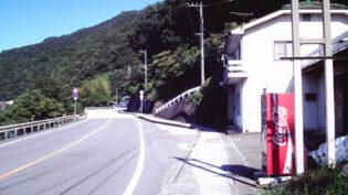 仁淀川沿いの道路